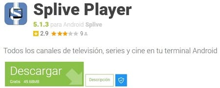 Splive tv descargar