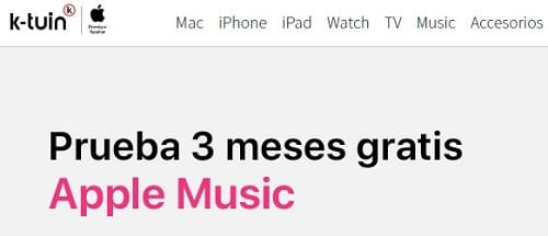 Apple Music prueba