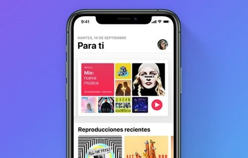 Apple Music canciones