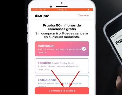 Apple Music suscripción