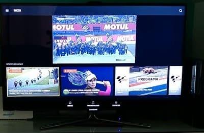 DAZN Smart TV