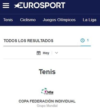 Eurosport web