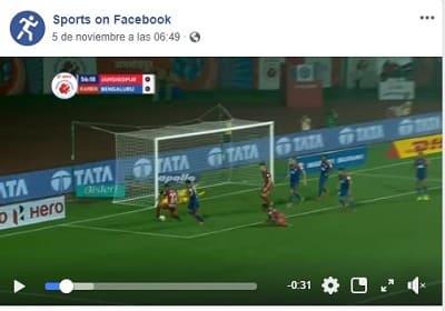 Facebook sport