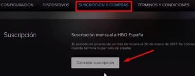 HBO baja