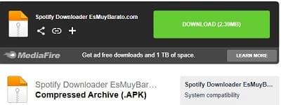 Spotify downloader