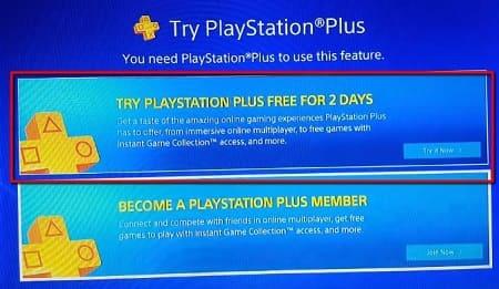 PlayStation Plus prueba