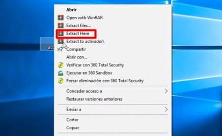 Windows 10 programa activar