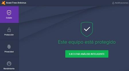 Avast Free virus