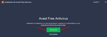Avast Free ordenador