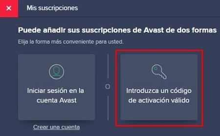 Avast Free código