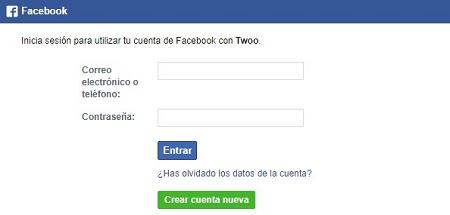 Twoo Facebook