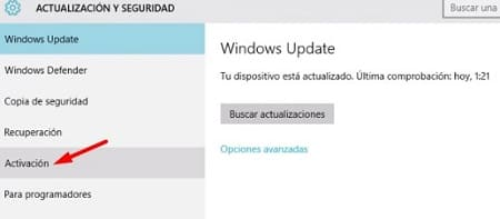 Activador Windows 10 PC