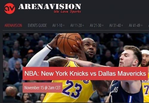 Arenavision deportes en vivo