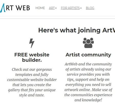 ArtWeb vender diseños