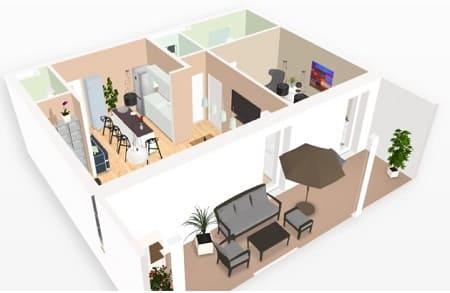 Planos 3D casa