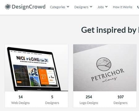 DesignCrowd vender diseños