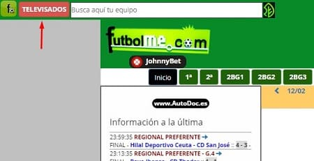 Futbolme partidos tv