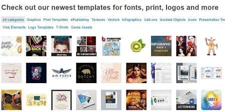 GraphicRiver vender diseños