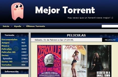 MejorTorrent web