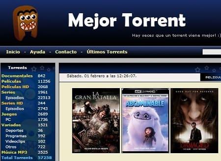 MejorTorrent películas