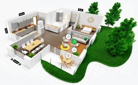 Planner5D diseño casa