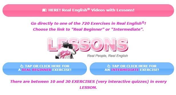 Real English practicar listening