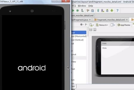 Android Studio emuladores Android