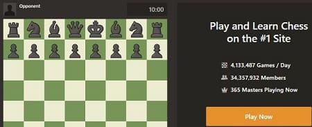 Chess jugar ajedrez online