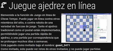 ChessTempo jugar ajedrez
