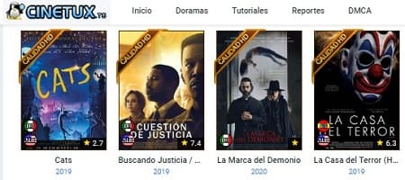 Cinetux películas gratis online web