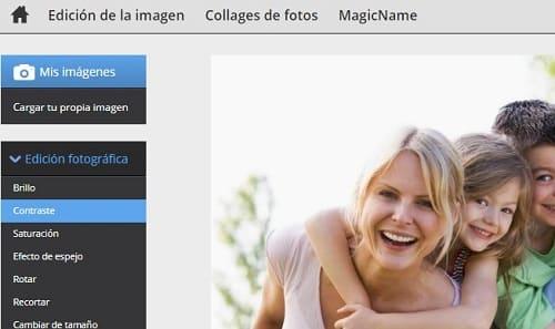 Editor de fotografía online gratis