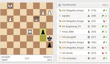 Lichess jugar ajedrez online