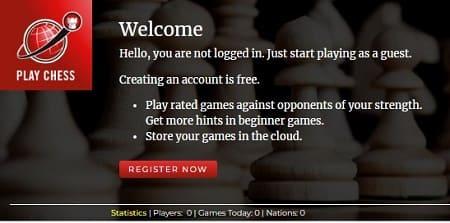 Playchess jugar ajedrez