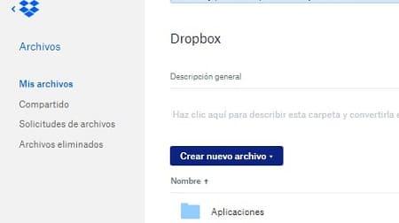WeTransfer Dropbox
