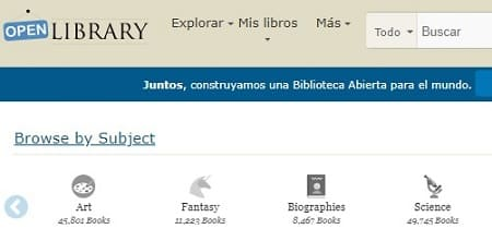 Página para bajar libros virtuales